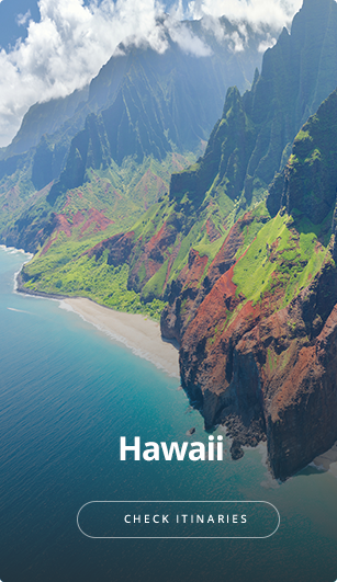 See itineraries for Hawaii.